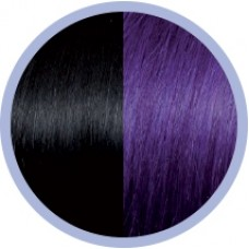 Extensie par natural Seiseta Crazy Black and Violet