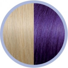Extensie par natural Seiseta Crazy Light Blonde and Violet